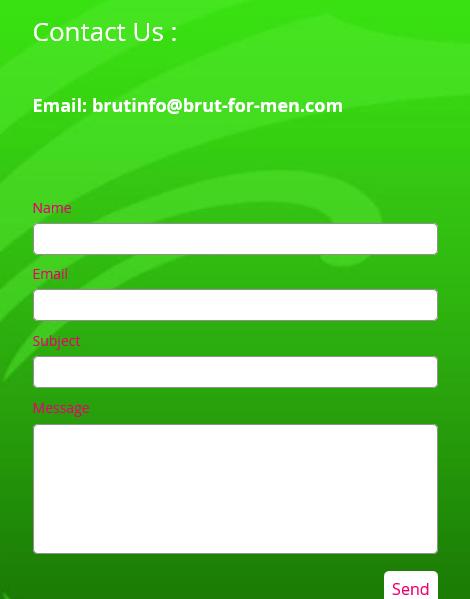 Brut - Contact - Form
